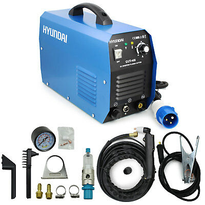 Plasma Cutter 40amp 240V + Complete Kit 60% Duty cycle Pro use Hyundai HYCUT40I