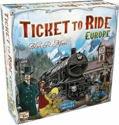 Ticket to ride Europe - Board Game - Free Fast Same day Dispatch