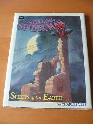 The Amazing Spider-man: Spirits of the Earth : Charles Vess.   HC.    Mint