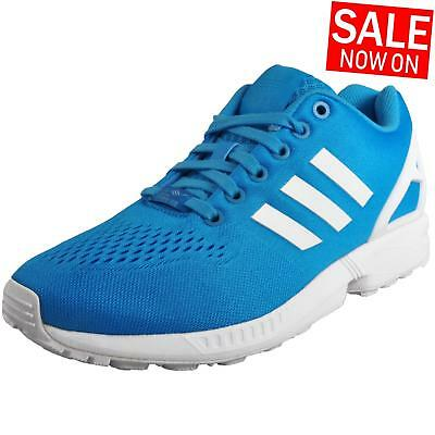 3f847d0d6 Adidas Originals ZX Flux Womens Classic Casual Fitness Gym Trainers Blue
