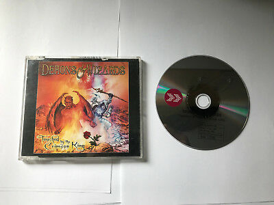 Demons & Wizards ‎Touched By The Crimson King Steamhammer ‎PROMO CD SPV 8000084