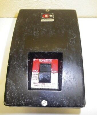 Cutler Hammer Lovolite Machinists Lamp Transformer. REDUCED PRICE