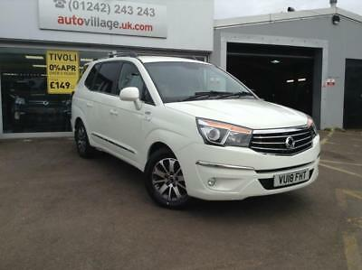 2018 SsangYong Turismo 2.2 ELX 4wd 7 SEAT 5 door MPV