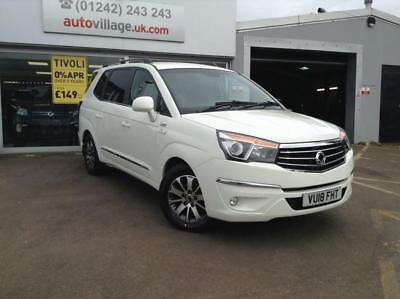 2018 SsangYong Turismo ELX 4x4 5YR WARRANTY 5 door MPV