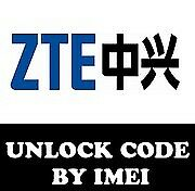 Unlock Code for ZTE devices: 811, Blade, Blade v580, Blade C2, C2+ 24/7 sevice