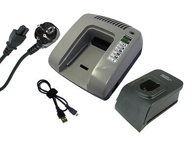 Chargeur pour Panasonic EY6535GQW EY6535NQKW EY6601BC EY9251 EY9251B, gris