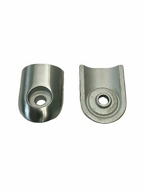 Smartrend SMG 499419 Stainless Steel Clamp Fitting Cast Set of 2 New & Free Ship