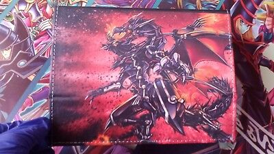 Red-Eyes Flare Metal Dragon Custom Yugioh Deckbox FREE shipping INCLUDED