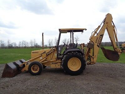 1990 Ford/New Holland 655C Backhoe, OROPS, 2WD