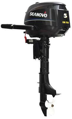 New Seanovo 5hp four stroke outboard motor. Free delivery