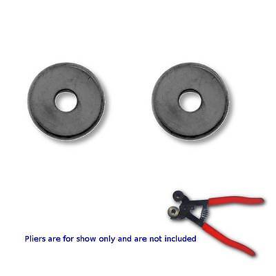 Set of 2 Replacement Carbide Wheels For Wheeled Knippers Pliers