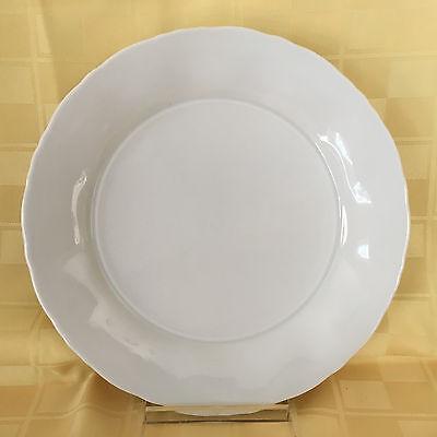 One (1) Lindt Stymeist Japan Fine China Classic Wave White Salad Plate