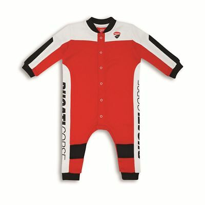 Ducati 9876977 Baby Romper Baby Bodysuits Baby Body Suit Corse Speed Red-White