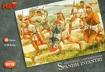 Model Kit Soldatini Figure HAT 1//72 SPANISH INFANTRY
