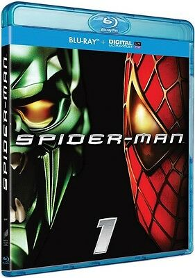 Blu Ray + Copie // SPIDER-MAN 1 // Tobey Maguire, Willem Dafoe / NEUF cellophané