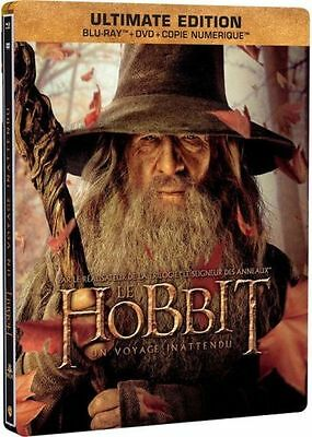 Blu Ray ULTIMATE EDITION Steelbook  // LE HOBBIT : UN VOYAGE INATTENDU //  NEUF