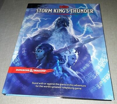 STORM KING'S THUNDER, Dungeons and Dragons D&D 5e Fifth edition