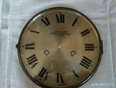 antique/ vintage clock face,frame and glass