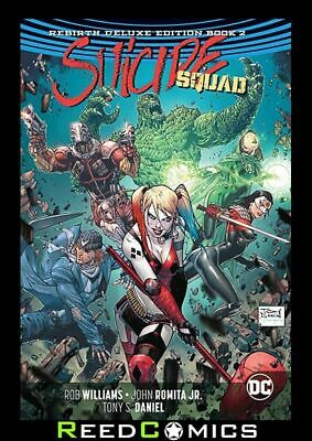 SUICIDE SQUAD REBIRTH DELUXE COLLECTION BOOK 2 HARDCOVER Hardback (328 Pages)