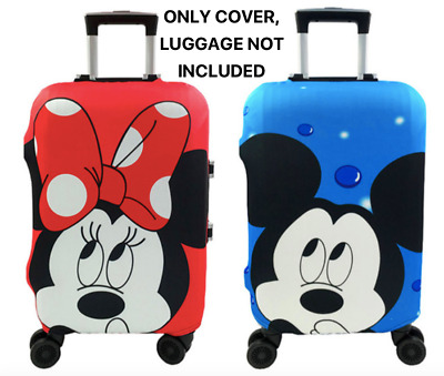 Minnie Mickey Travel Case Protective Cover Luggage Suitcase Skin Dust Proof