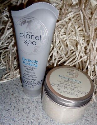 """Avon """"Planet Spa"""" Perfectly Purifying Set, Brand New"""