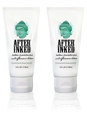 After Inked Tattoo Natural After Care Healing Cream Lotion Balm Tattoos Vegan
