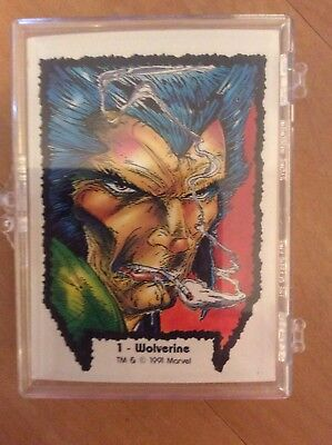 Marvel Comics Wolverine complete trading card set by Comic Images Series I 1991