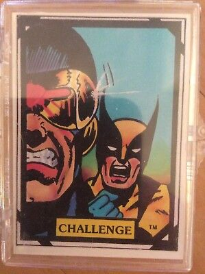 Marvel Comics Wolverine complete trading card set by Comic Images 1988 - Rare
