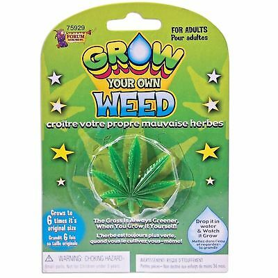 Grow Your Own Weed Cannabis Drugs Joke Adult Gift Funny Birthday Novelty Present