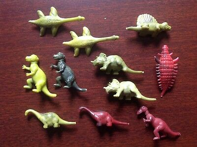 11 Nabisco Cereal Box Dinosaurs in Mint Condition, all different 1950s discovery