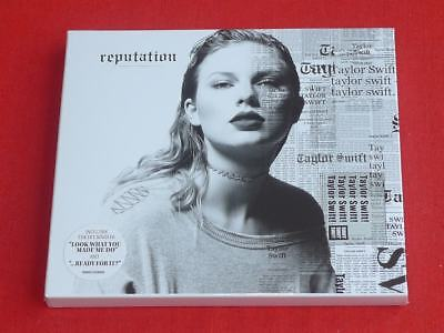 reputation [Slipcase] by Taylor Swift (CD, Nov-2017, Big Machine Records)