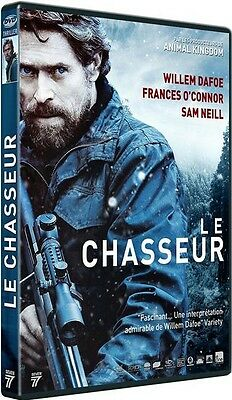 DVD  //  LE CHASSEUR  // Willem Dafoe - Frances O'Connor  /  NEUF cellophané