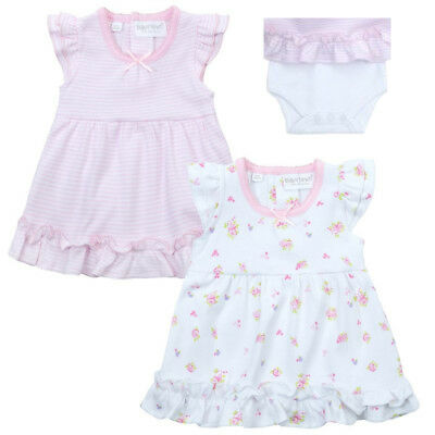 Premature Baby Girl  Tiny Dress bodysuit Pink White up to 5lb up to 8lb-12 month