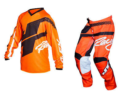 Youth MX Gear, JT Racing USA-2018 Youth Flex Hi-Lo Jersey & Pants , Orange/Black