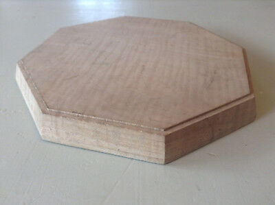 Octagonal Wooden Teapot Stand or Display Stand