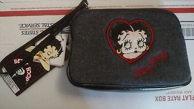 new with tag Betty Boop pouch wallet coin purse small clutch hand bag FREE SHIP