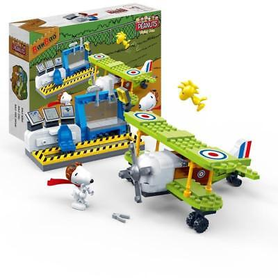 BanBao Snoopy's Aircraft base Flying Ace  Block Set #7522 - Peanuts Collection