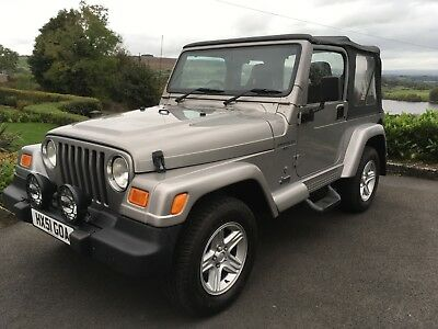 JEEP WRANGLER 60th ANIVERSARY EDITION 4.0 ULTRA RARE ONLY 33000 MILES IMMACULATE