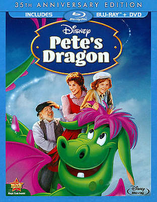 Petes Dragon (Blu-ray/DVD) Disney NEW! Live Action W/Slip Cover