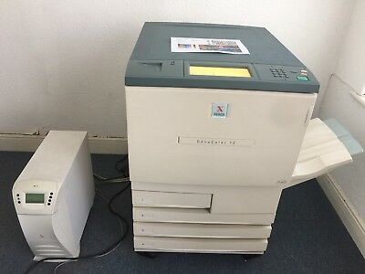Xerox DC12 Printer with Fiery Rip and X-Rite Autoscan Densitometer