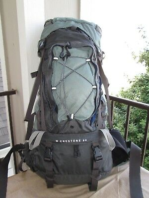 87cfecb5f THE NORTH FACE W Crestone 60 Backpack Rucksack Hiking Ski Travel Camping