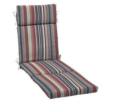 Stripe Outdoor Chaise Lounge Cushion Patio Furniture Replacement