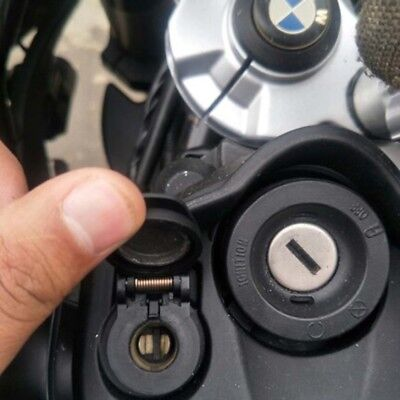 Dual USB Charger DIN Cigarette Lighter Socket for BMW Triumph Hella Motorcycle