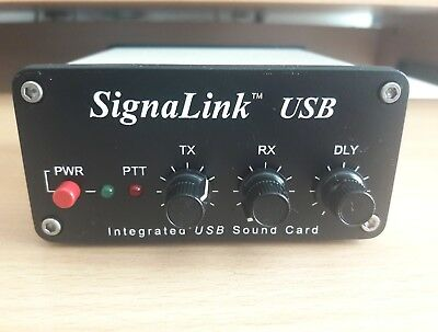 TIGERTRONICS SIGNALINK USB with leads manual and disc