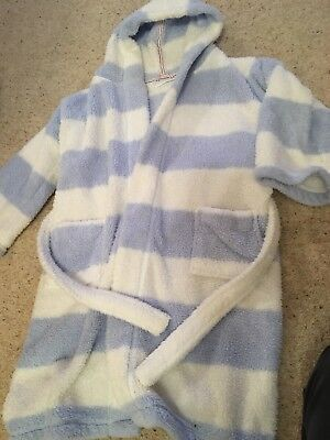 LITTLE WHITE Company Girls Dressing Gown 9-10 - £3.00 | PicClick UK