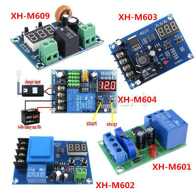 12V/24V/36V Battery Charging Control Board Charger Power Supply 6-60V Module