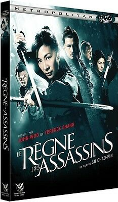 DVD //  LE RÈGNE DES ASSASSINS  //  Michelle Yeoh, Barbie Hsu / NEUF cellophané