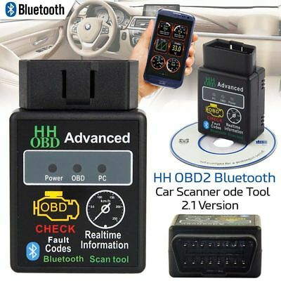 ELM327 Bluetooth OBD2 OBDII Car Diagnostic Scanner Code Reader Tool for Android