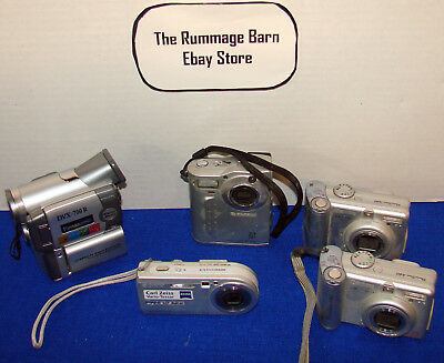 Digital Camera Lot ---- Canon & More --- As Is Untested