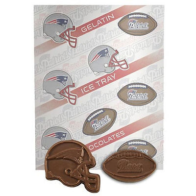 NFL Football Chocolate Candy Mold - New England Patriots